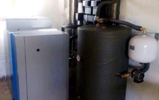 Instalación caldera Easypell