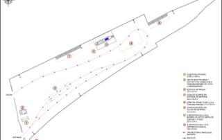 Plano de planta de RCD