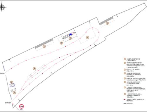 Autorización de uso excepcional de suelo rústico para la implantación de planta de selección y clasificación de residuos de construcción y demolición (RCD)